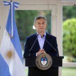 EL PRESIDENTE MAURICIO MACRI ANUNCIO MEDIDAS PARA TRABAJADORES Y PYMES