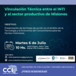 El Ministerio de Industria recibe a representantes del INTI, Desarrollo Productivo y Credicoop.