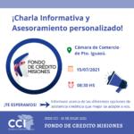 """Charla informativa: """"Fondo de Crédito Misiones""""."""