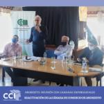 Reunión de la reactivación de la Cámara de Comercio, Industria, Servicios y Turismo de Cdte. Andresito.