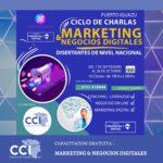 """Nueva Capacitación: """"Ciclo de charlas – Marketing y Negocios Digitales""""."""